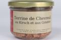 Terrine de chevreuil au kirsch et aux griottes