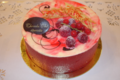 Vacherin glacé Vanille-Framboise