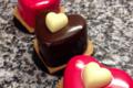 Coeur framboise passion et chocolat gingembre