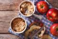 Crumble aux pommes et poires de Savoie