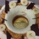 La normande, couronne glacée banane