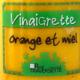 vinaigrette orange et miel