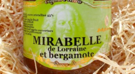 les confitures de Stanislas, Confiture de Mirabelle Bergamote