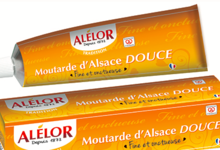 Alélor, Moutarde Douce en Tube