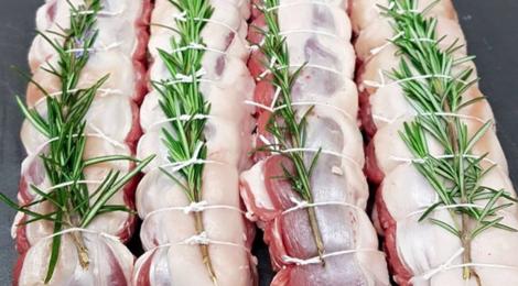 Boucherie d'Armoy,  filet d'agneau au romarin