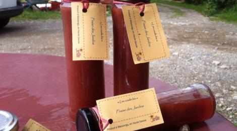 Les jardins de Banset, coulis de fruits rouges