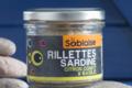 La Sablaise,  Rillettes de sardines MSC au citron confit et au Basilic