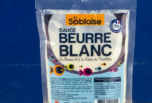 La Sablaise,  Sauce Beurre Blanc