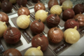 Pâtissier Chocolatier Fontaine, boules de Noël