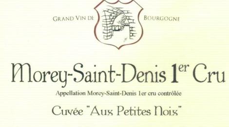 Domaine Magnien, Morey-Saint-Denis Premier Cru Cuvée 'Aux petites Noix