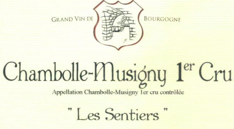 Domaine Magnien, Chambolle-Musigny Premier Cru 'Les Sentiers'