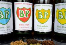 Brasserie du Pintadier, bière rouge 9,1%