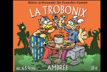 Brasserie Terra Comtix, la Trobonix ambrée