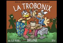 Brasserie Terra Comtix, la Trobonix brune