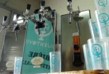 Brasserie Quentovic, pompe à bière