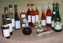 Ferme de la vallée au tanneur, les liqueurs au calvados