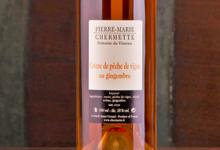 Pierre-Marie Chermette, Crème de pêche de vigne au gingembre