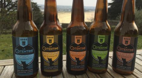 Brasserie Cotentine, blonde de la presqu'île