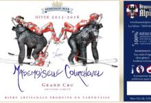 Brasserie alpine,  Mademoiselle Courchevel