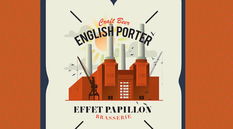 Brasserie Effet Papillon, English Porter