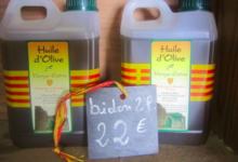 Christian Blazi, huile d'olive vierge extra en bidon