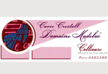 """Domaine Madeloc, collioure rouge """"Crestall"""""""