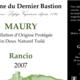 Domaine Du Dernier Bastion, VDN AOP Maury Rancio