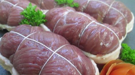 Boucherie Gantzer, paupiettes de canard aux cèpes