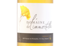 Domaine de l'immortelle, AOP Muscat de Rivesaltes Vin Doux naturel