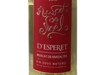 Domaine d'Esperet, Muscat de Rivesaltes AOP Muscat de noël