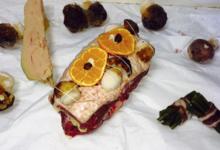 Chez Vanessa & Bertrand, Rôti de magret au foie gras