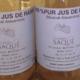 Domaine Saqué, jus de raisin muscat d'Alexandrie