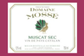 Chateau Mossé, Muscat sec