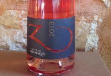 Château Les Mazes, Z rosé