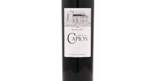 Château Capion, grand vin rouge