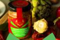 Les ANTONIN, velours de coeur d'artichaut et poivrons rouges