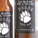 Bière de l'ours dorée