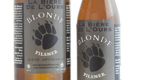 Bière de l'ours, Pilsner Blonde