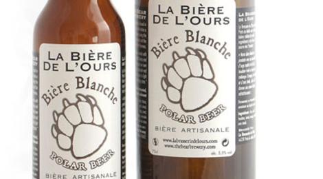 Bière de l'ours blanche
