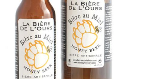 Bière de l'ours au miel