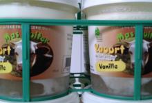 Laiterie - Fromagerie du Mas Guiter, yaourt à la vanille