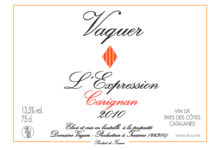 Domaine Vaquer, L'Expression