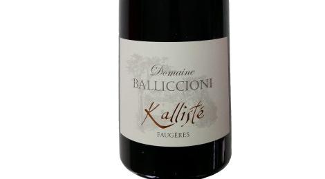 Domaine Balliccioni, cuvée Kallisté