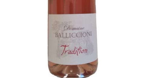 Domaine Balliccioni, Faugères Cuvée Tradition rosé