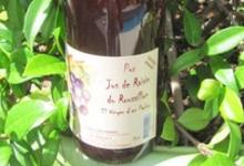 El Vinyer d'en Parlou, jus de raisin rouge