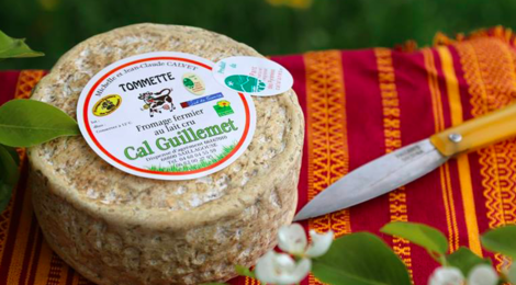 Fromagerie « Cal Guillemet », tommette