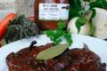 Charcuterie Catalane Bonzon, veau de Cerdane sauce forestière