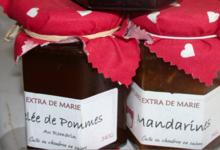Les Confitures de Marie, gelée de pommes au romarin