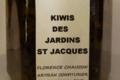 Les Confitures du Verger de la Pesquitte, kiwis des jardins St Jacques