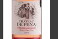 Château de Péna, côtes du roussillon rosé